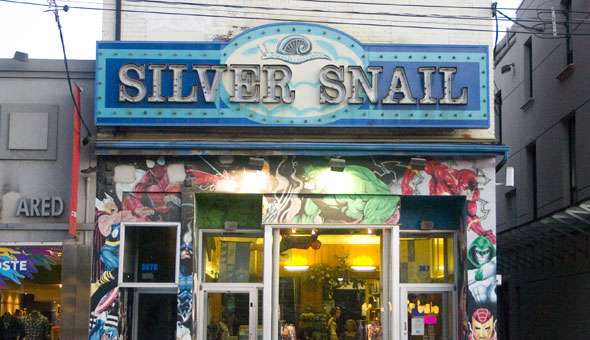 image of Silver Snail